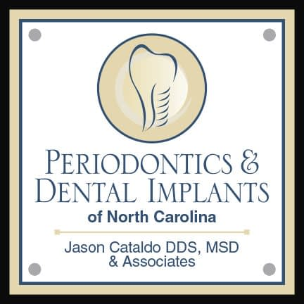 Carolina Periodontics & Dental Implants of North Carolina logo.